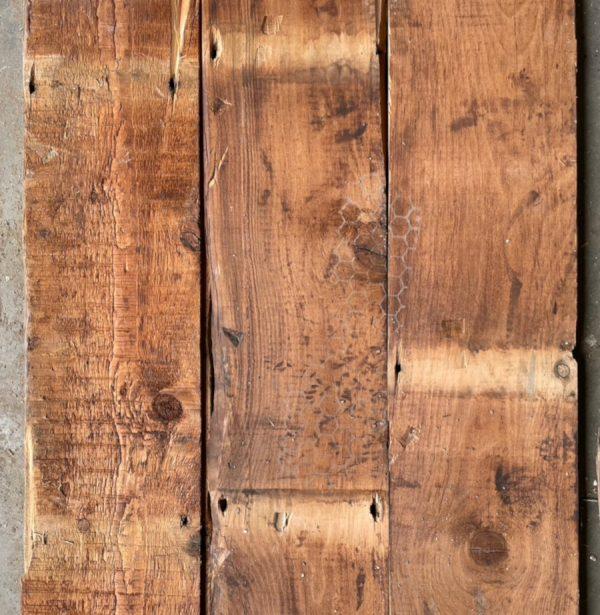Reclaimed pine floorboard 150mm (rear of boards)