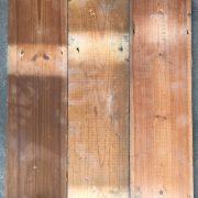 Reclaimed 135mm floorboard (rear of boards)