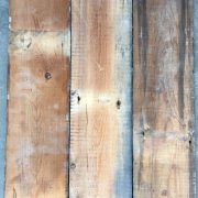 Reclaimed 135mm floorboards (rear of boards)
