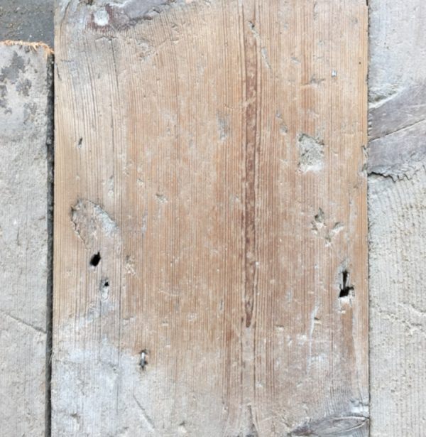Reclaimed 150mm floorboards (lightly sanded section)