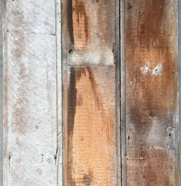 Reclaimed 150mm floorboards (rear of boards)