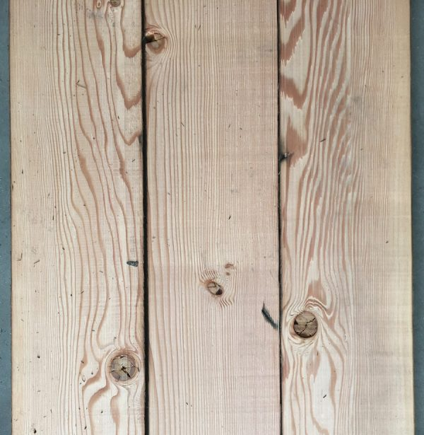 170mm reclaimed douglas fir floorboards