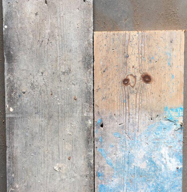 Reclaimed floorboards 215mm