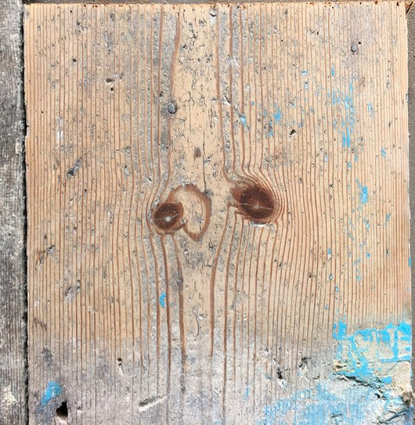 Reclaimed floorboards 215mm (lightly sanded)