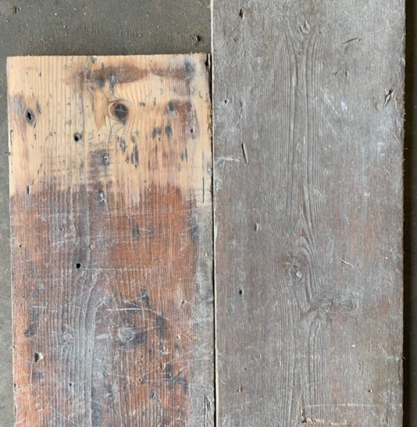 Reclaimed 215mm floorboards
