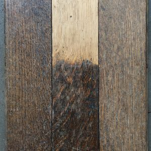 Reclaimed oak strip 92mm.