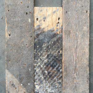 Reclaimed pine floorboard 118mm