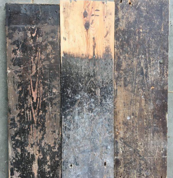 Reclaimed 120mm floorboards