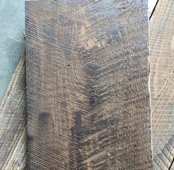 Reclaimed hardwood barn boards (brushed)