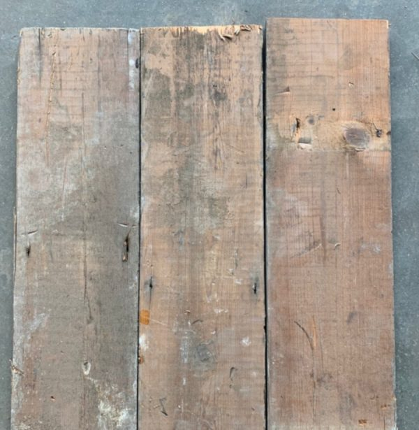 Victorian floorboards 155mm (rear of boards)