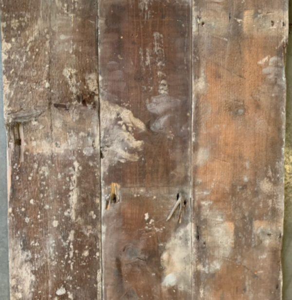 Reclaimed floorboards 170mm (rear of boards)