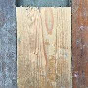 Reclaimed 120mm floorboard (Lightly sanded section)