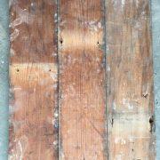 Reclaimed 120mm floorboard (rear of boards)