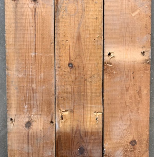 Reclaimed 120mm floorboards (rear of boards)