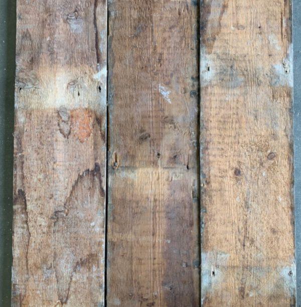 Reclaimed 155mm floorboards (rear of boards)