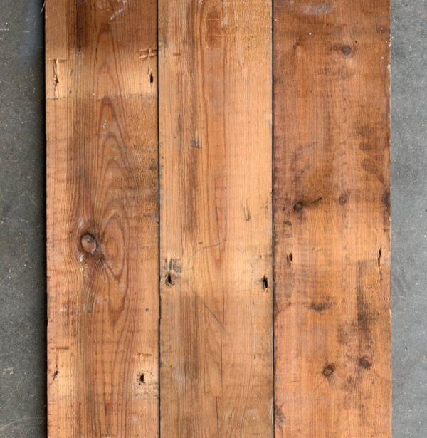 Reclaimed floorboards 120mm (rear of boards)