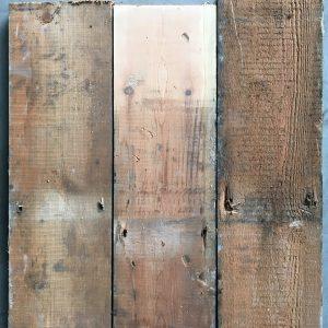 Reclaimed pine floorboards 172mm