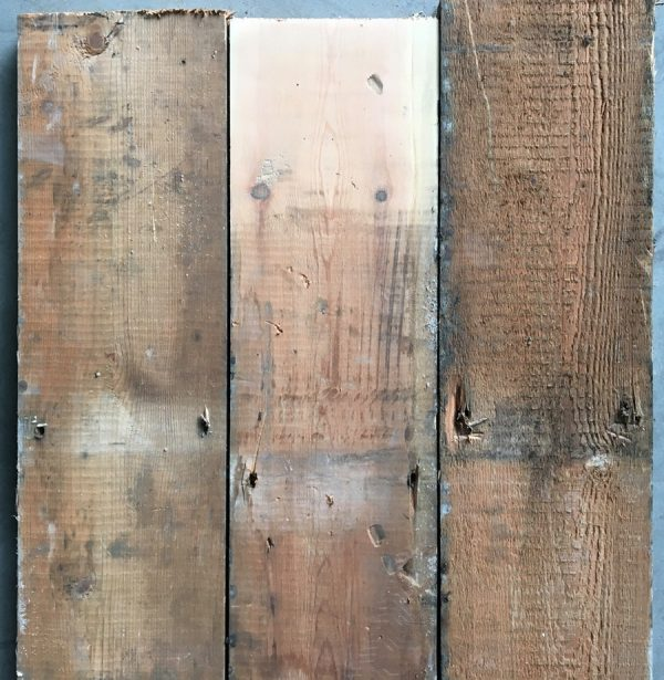 Reclaimed pine floorboards 172mm