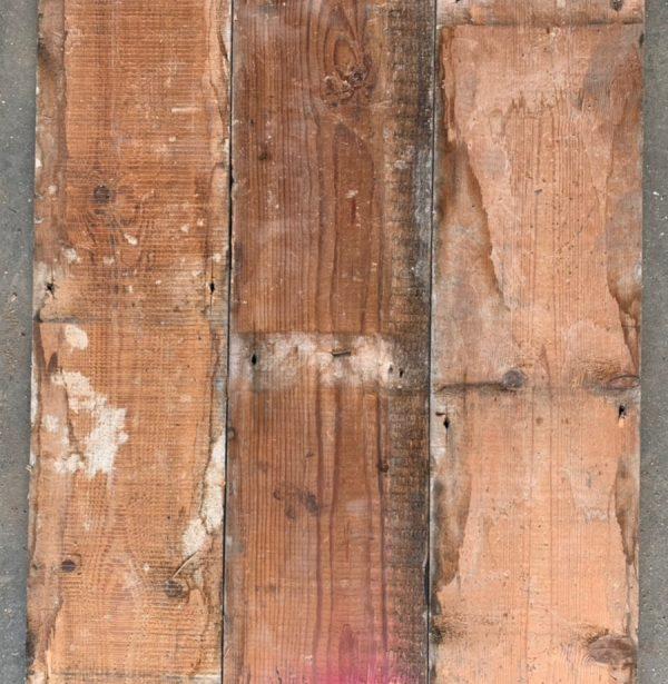 170mm Victorian floorboards (rear of boards)