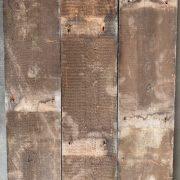 Reclaimed pine floorboards 170mm (rear of boards)