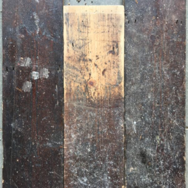 Reclaimed 132mm floorboard