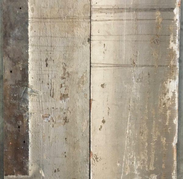 Reclaimed re-sawn floorboards (rear of boards)
