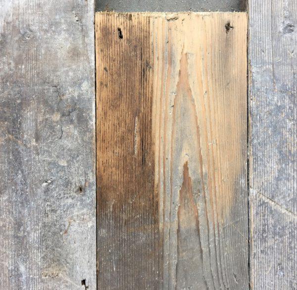 Reclaimed 125mm floorboards (lightly sanded)