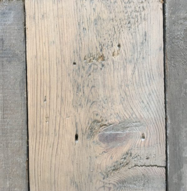 Reclaimed 155mm roofboard (lightly sanded section)