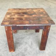 Reclaimed timber table 4 seat