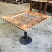 Reclaimed timber table