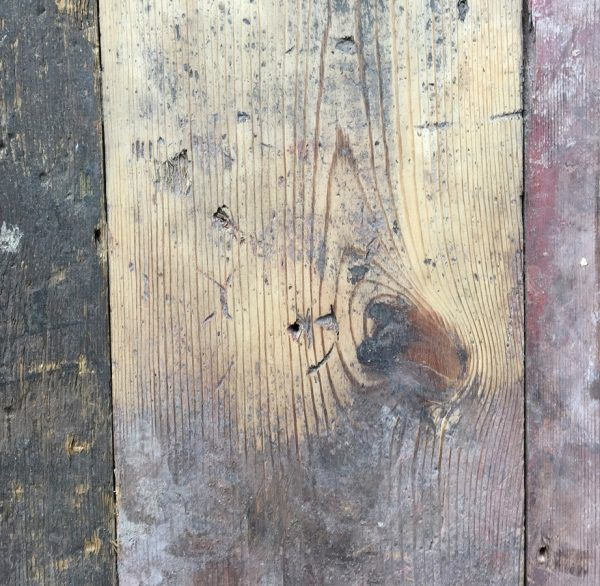Reclaimed floorboards 165mm (lightly sanded)