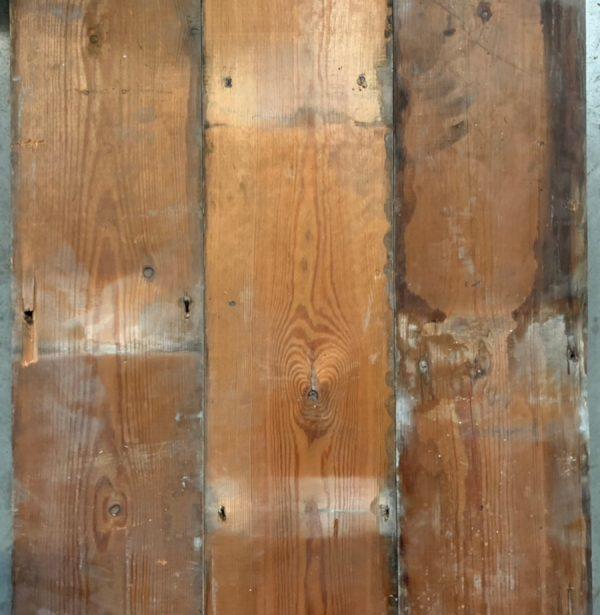 Reclaimed floorboard 165mm (rear of boards)