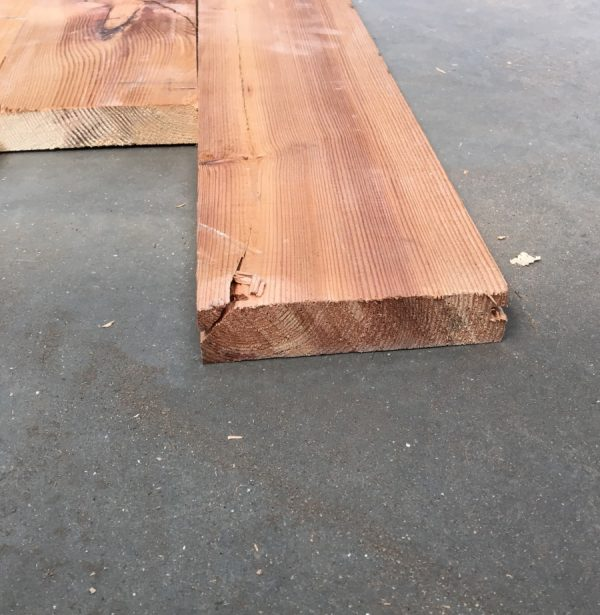 Reclaimed 135mm floorboards (end of boards)
