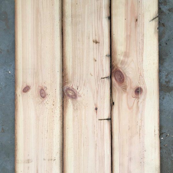 Re-sawn boards 115mm