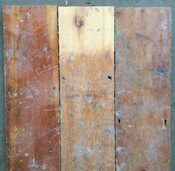 Reclaimed floorboards 137mm