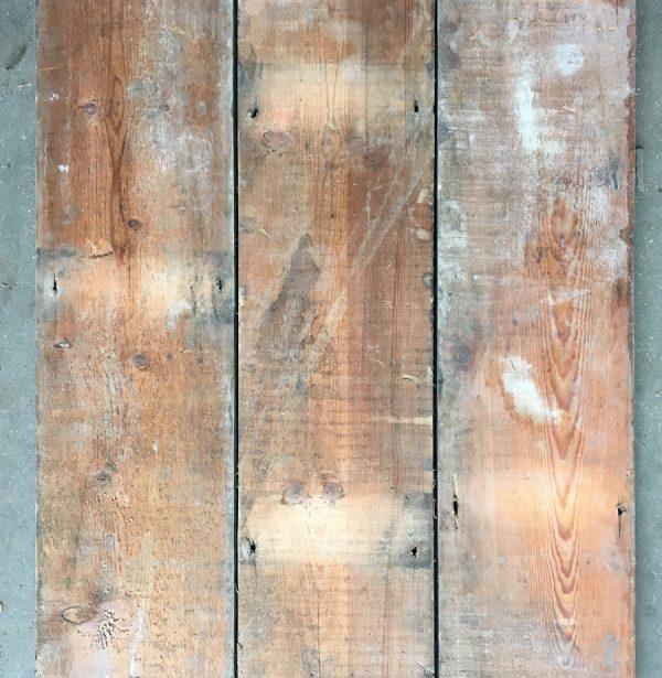 Reclaimed floorboards 137mm (rear of boards)