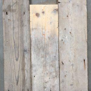 Reclaimed pine floorboards 125mm