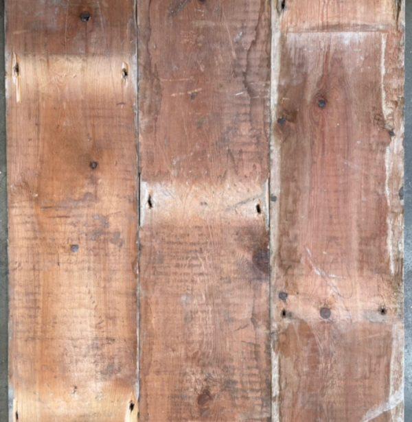 145mm reclaimed floorboards (rear of boards)