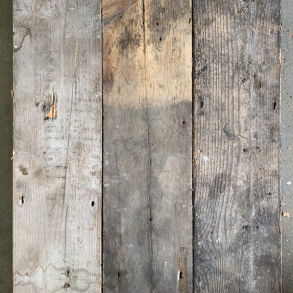 Reclaimed 145mm floorboards