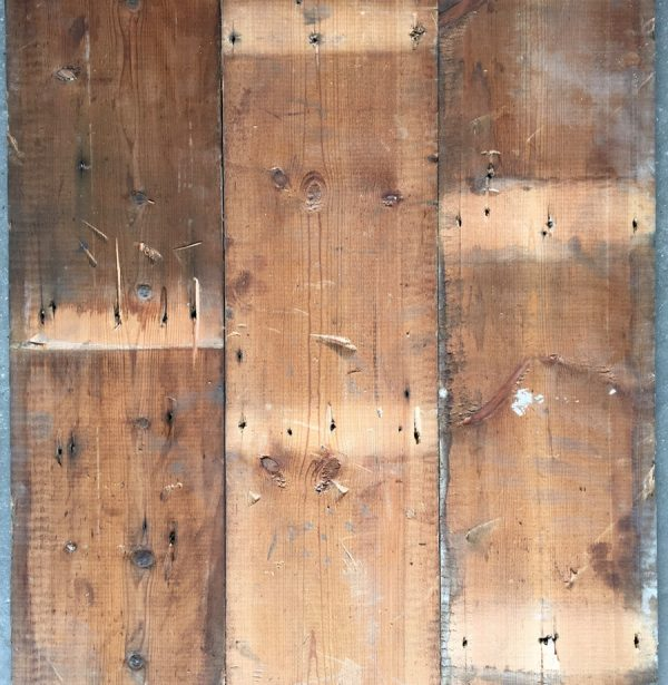 Reclaimed roofboard 195mm (rear of boards)