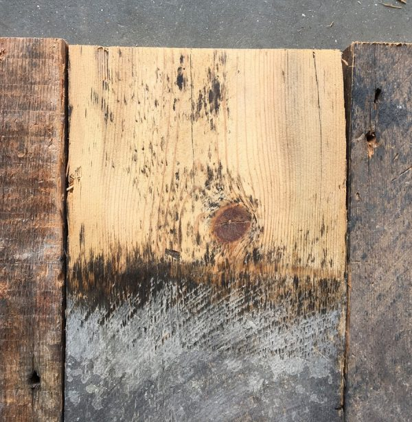 Reclaimed 185mm roofboard (lightly sanded)