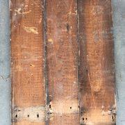 Reclaimed roofboard 110mm (rear of boards)
