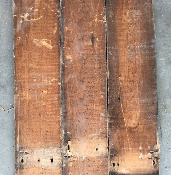 Reclaimed roofboard 110mm (rear of boards)