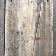 Reclaimed weathered scaffold boards