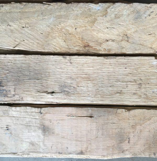 Reclaimed oak block (rear of blocks)