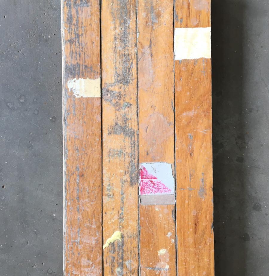 Reclaimed oak block