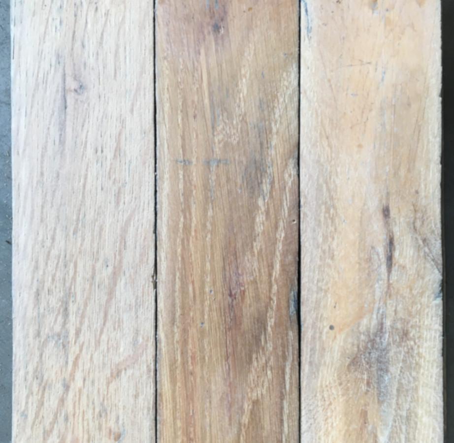 Reclaimed oak block (lightly sanded)
