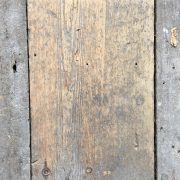 Reclaimed 160mm floorboard (Lightly sanded section)