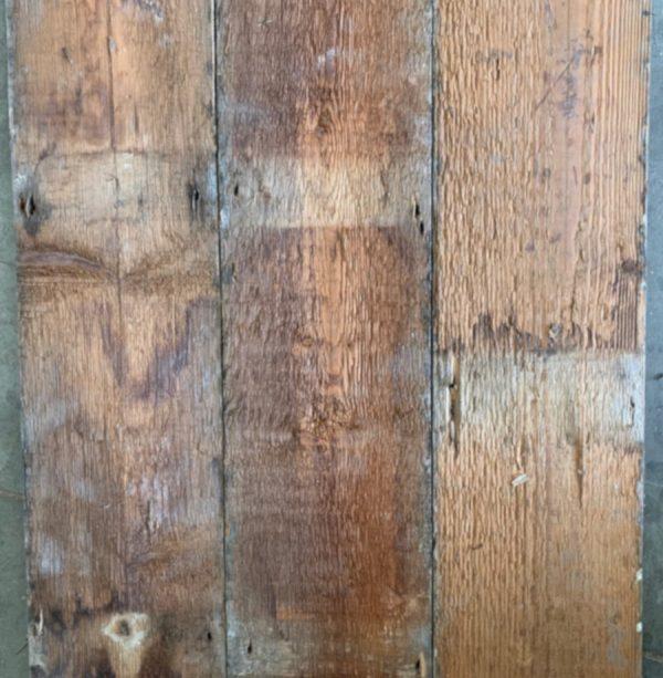 Reclaimed 160mm floorboards (rear of boards)