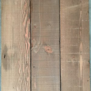 Reclaimed Douglas fir cladding